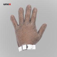 دستکش ضد برش فلزی چینی نقره ای