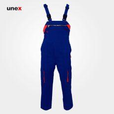 لباس کار یونکس دوبنده آبی نارنجی