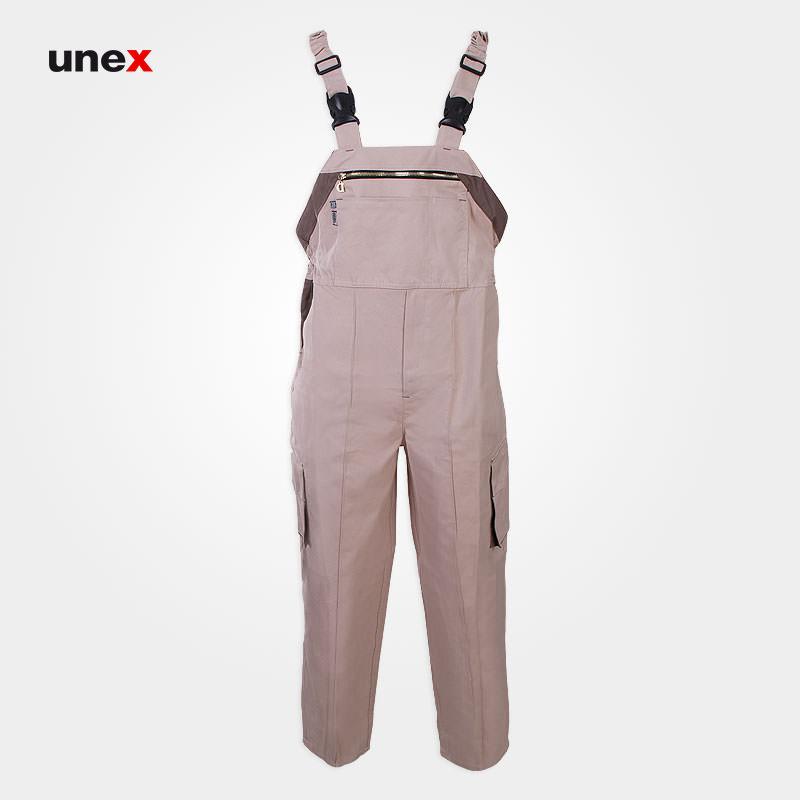 لباس کار دوبنده، ابزار ایمنی شهپر، لباس کار صنعتی، کرم، ایرانی