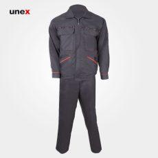 لباس کار یونکس اورجینال طوسی