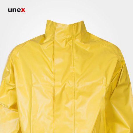 لباس دوتکه شیمیایی نیل پرن - NYLPRENE، تاکونی - TACCONI، لباس کار شیمیایی، زرد، ایتالیایی