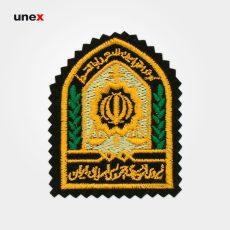 آرم کلاه نیروی انتظامی جمهوری اسلامی ایران، ابزار ایمنی شهپر، آرم، ایرانی