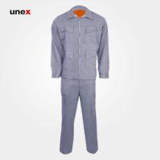 لباس کار کاپشن شلوار نیو آیسان – NEW AISAN، لباس کار صنعتی، نقرابی – نارنجی، ایرانی