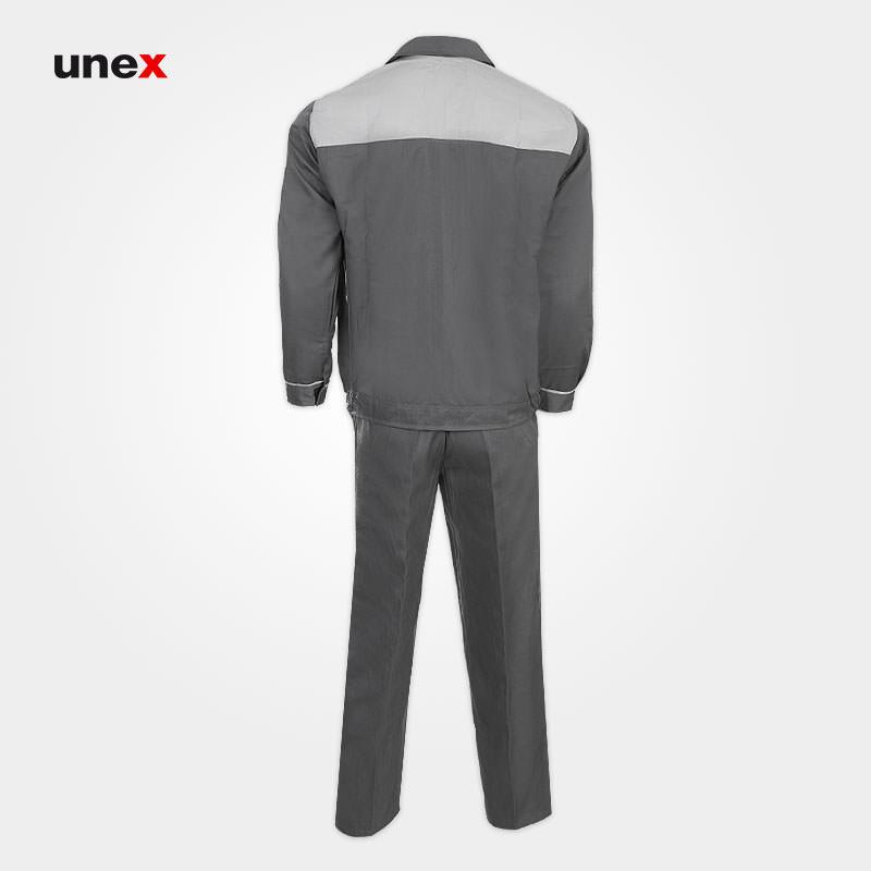 لباس کار کاپشن شلوار مهندسی، لباس کار صنعتی، طوسی، ایرانی