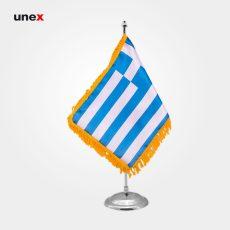 پرچم کشور یونان ۲۰*۳۰ سانتی متر، ابزار ایمنی شهپر، پرچم، ایرانی
