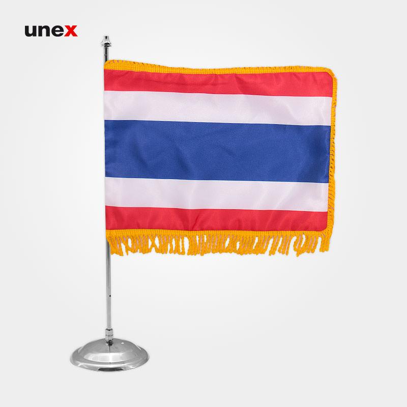 پرچم کشور پادشاهی تایلند، ۲۰*۳۰ سانتی متر، ابزار ایمنی شهپر، پرچم، ایرانی