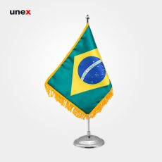 پرچم کشور جمهوری فدراتیو برزیل۲۰*۳۰ سانتی متر، ابزار ایمنی شهپر، پرچم، ایرانی