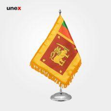 پرچم کشور جمهوری دموکراتیک سوسیالیستی سریلانکا ۲۰*۳۰ سانتی متر، ابزار ایمنی شهپر، پرچم، ایرانی