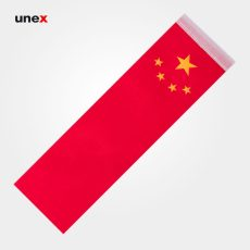 پرچم کشور جمهوری خلق چین ۸*۲۸ سانتی متر، ابزار ایمنی شهپر، پرچم، ایرانی
