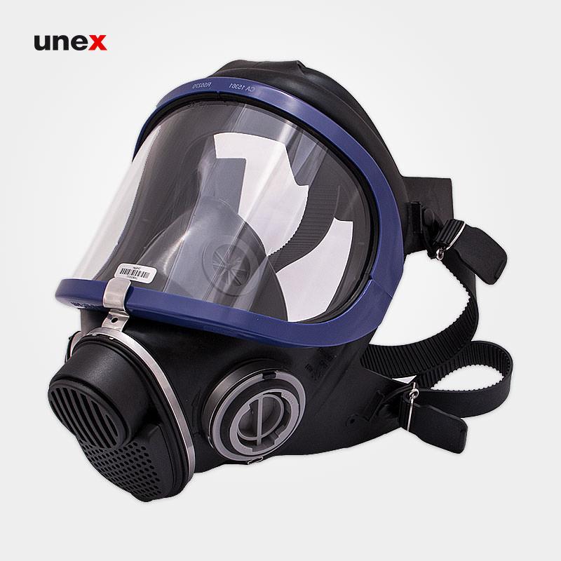 ماسک تمام صورت X-PLORE 5500، دراگر – DRAGER، ماسک های تمام صورت، مشکی – آبی، آلمانی