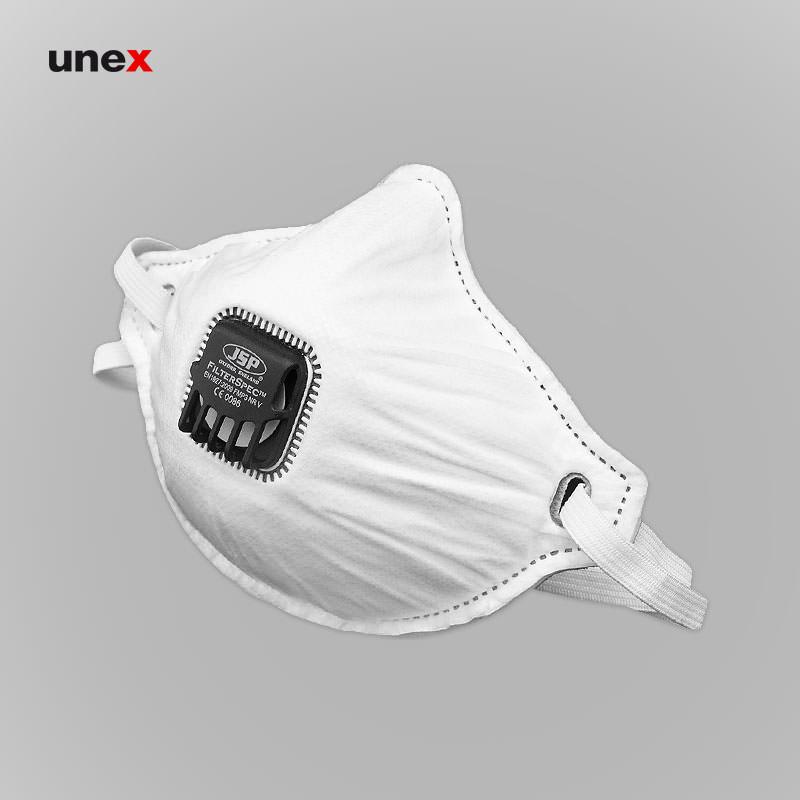 ماسک سوپاپ دار فیلتراسپک - FILTERSPEC FMP3، جی اس پی - JSP، ماسک های سوپاپ دار، سفید، انگلیسی