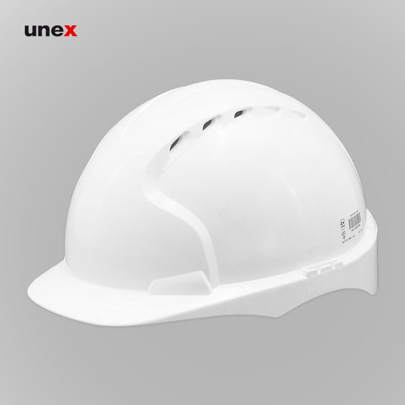 کلاه ایمنی EVO 3 ،جی اس پی - JSP ، کلاه ایمنی صنعتی، رنگ آبی و سفید ، انگلیسی