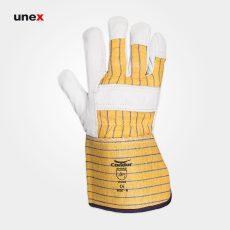 دستکش جوشکاری آرگون مهندسی CONDOR آرگون زرد