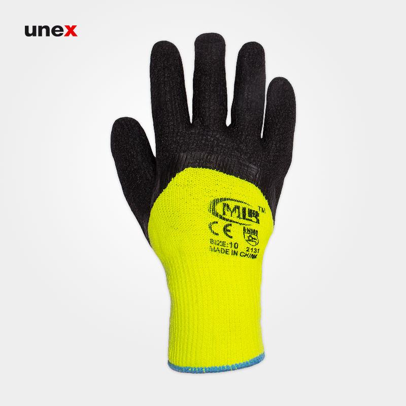 دستکش ضد برش سنگین، ام ال آر - MLR، دستکش ضد برش، سبز - مشکی، چینی