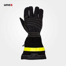 دستکش عملیاتی سوپر سافت – SUPER SOFT، سیز – SEIZ، دستکش عملیاتی مبارزه با حریق، مشکی، آلمانی