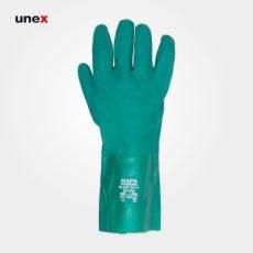 دستکش ضد حلال ماپا ۳۶۱ TELSOL سبز