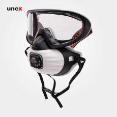 عینک ماسک گاگل COMBO FMP2، جی اس پی – JSP، ماسک های نیم صورت، مشکی