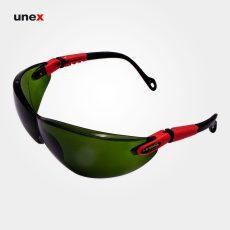 عینک ایمنی کاناسیف CURV-I سبز