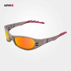 عینک ایمنی فیول – FUEL، ای او – AO، عینک فریم دار، بژ – نارنجی