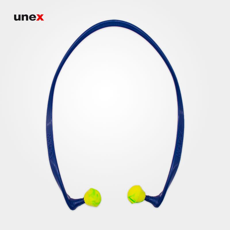صدا گیر تل دار ۶۸۱۰، مولدکس – MOLDEX، گوشی ایمنی داخل گوش، آبی – سبز، آلمانی