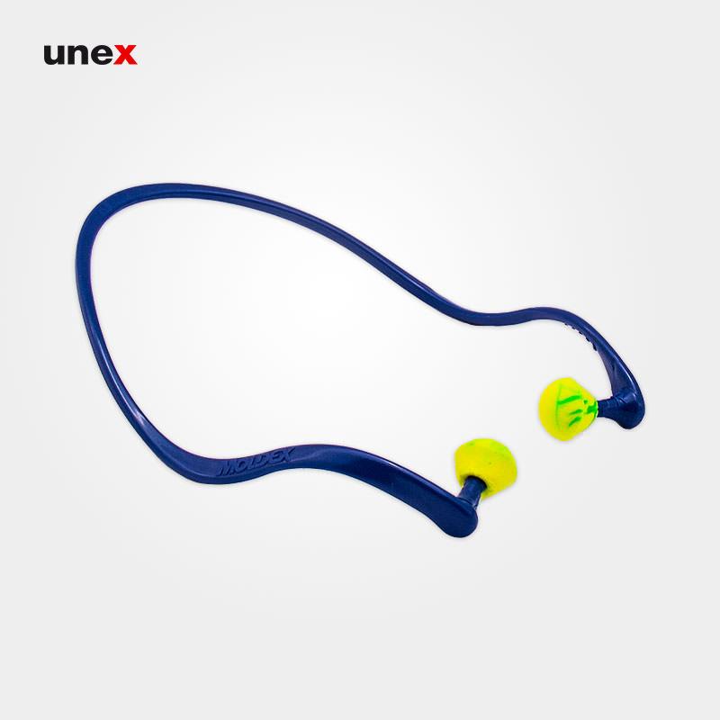 صدا گیر تل دار ۶۸۱۰، مولدکس - MOLDEX، گوشی ایمنی داخل گوش، آبی - سبز، آلمانی
