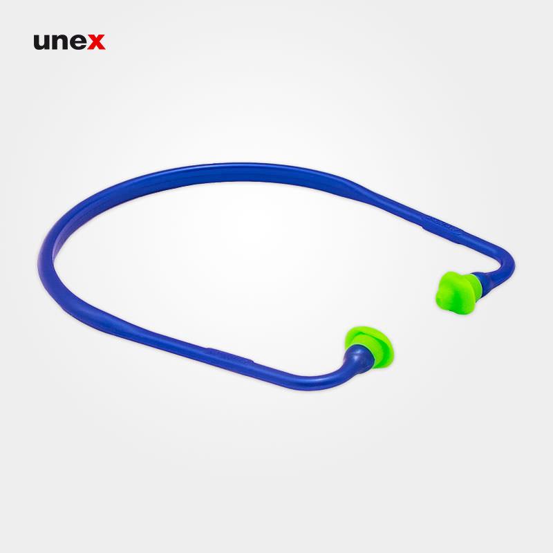 صدا گیر تل دار ۶۶۰۰، مولدکس - MOLDEX،گوشی ایمنی داخل گوش، آبی - سبز، آلمانی