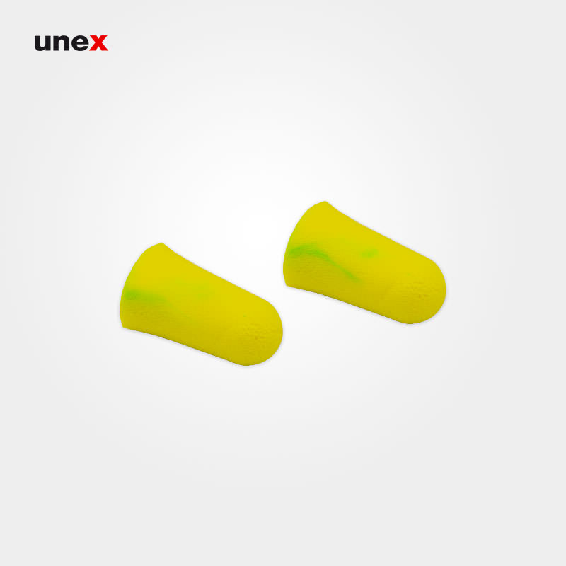 صداگیر اسفنجی ۷۷۰۰، مولدکس – MOLDEX، بدون بند، گوشی ایمنی داخل گوش، رنگ سبز فسفری، آلمانی