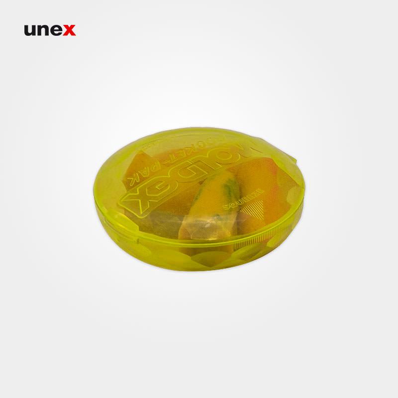 صدا گیر اسفنجی بدون بند، مولدکس - MOLDEX، گوشی ایمنی داخل گوش، نارنجی، آلمانی