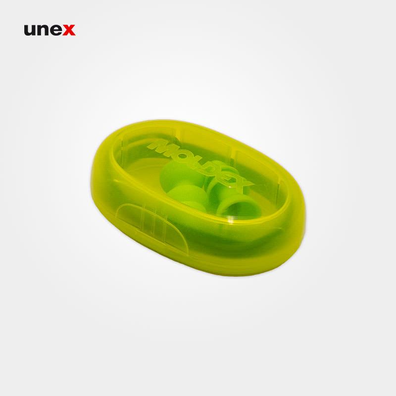 صدا گیر ۳ پله، مولدکس - MOLDEX،گوشی ایمنی داخل گوش، سبز، آلمانی