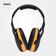 گوشی ایمنی بلاکا – BLOCKA II L، کاناسیف – CANASAFE، گوشی ایمنی روی گوش، مشکی – زرد، سایز L