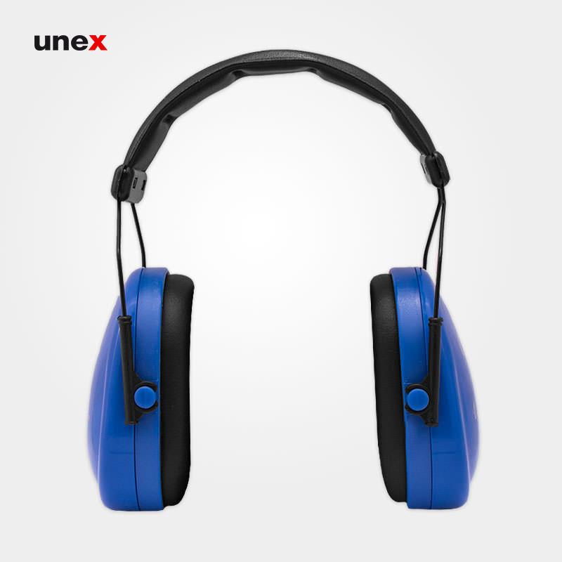 گوشی ایمنی کلاسیک - CALASSIC GP، جی اس پی - JSP، گوشی ایمنی روی گوش، آبی - مشکی
