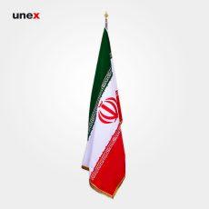 پرچم بلند گلدوزی ایران ۱/۵*۹۰سانتی متر، ابزار ایمنی شهپر، ایرانی