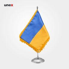پرچم کشور اوکراین، ۲۰*۳۰ سانتی متر، ابزار ایمنی شهپر، پرچم، ایرانی
