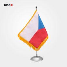 پرچم کشور جمهوری چک، ۲۰*۳۰ سانتی متر، ابزار ایمنی شهپر، پرچم، ایرانی