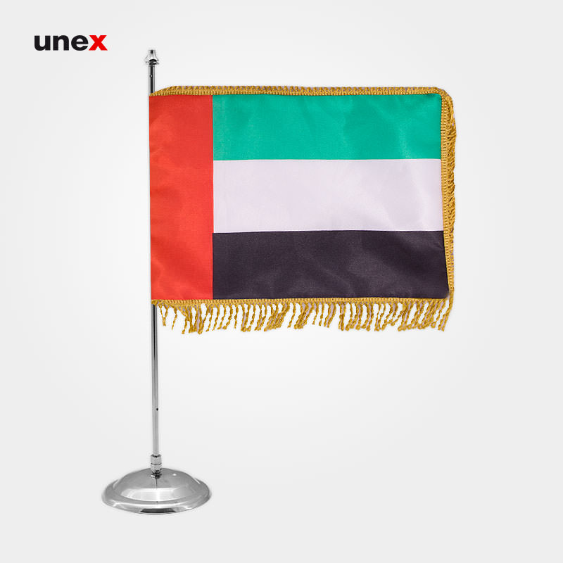 پرچم کشور امارات متحده عربی، ۲۰*۳۰ سانتی متر، ابزار ایمنی شهپر، پرچم، ایرانی