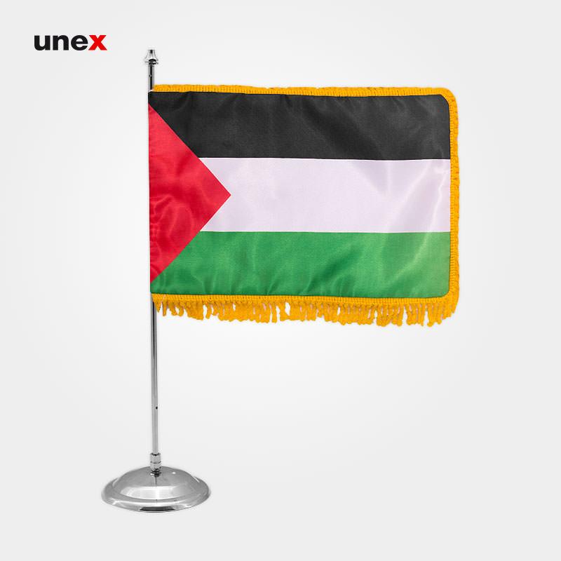 پرچم کشور فلسطین، ۲۰*۳۰ سانتی متر، ابزار ایمنی شهپر، پرچم، ایرانی