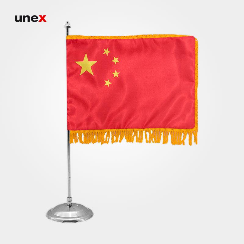 پرچم کشور جمهوری خلق چین، ۲۰*۳۰ سانتی متر، ابزار ایمنی شهپر، پرچم، ایرانی