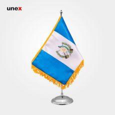پرچم کشور جمهوری گواتِمالا، ۲۰*۳۰ سانتی متر، ابزار ایمنی شهپر، پرچم، ایرانی