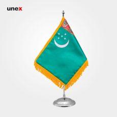 پرچم کشور ترکمنستان، ۲۰*۳۰ سانتی متر، ابزار ایمنی شهپر، پرچم، ایرانی