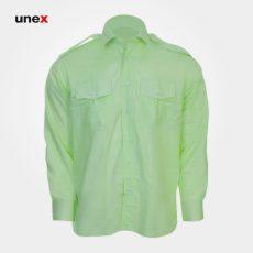 پیراهن فرم نیروی انتظامی جمهوری اسلامی ایران، ابزار ایمنی شهپر، سبز روشن، ایرانی
