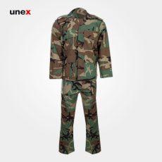 لباس شلوار یونکس ارتش جنگلی سبز