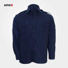 پیراهن فرم حراست، ابزار ایمنی شهپر، لباس کار صنعتی، سرمه ای، ایرانی