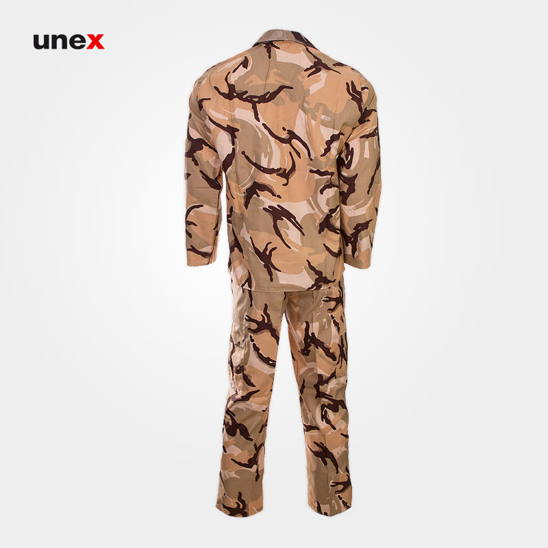 لباس شلوار ارتش، کویری، ابزار ایمنی شهپر، لباس ارتش، خاکی، ایرانی