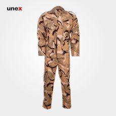 لباس شلوار یونکس ارتش کویری خاکی
