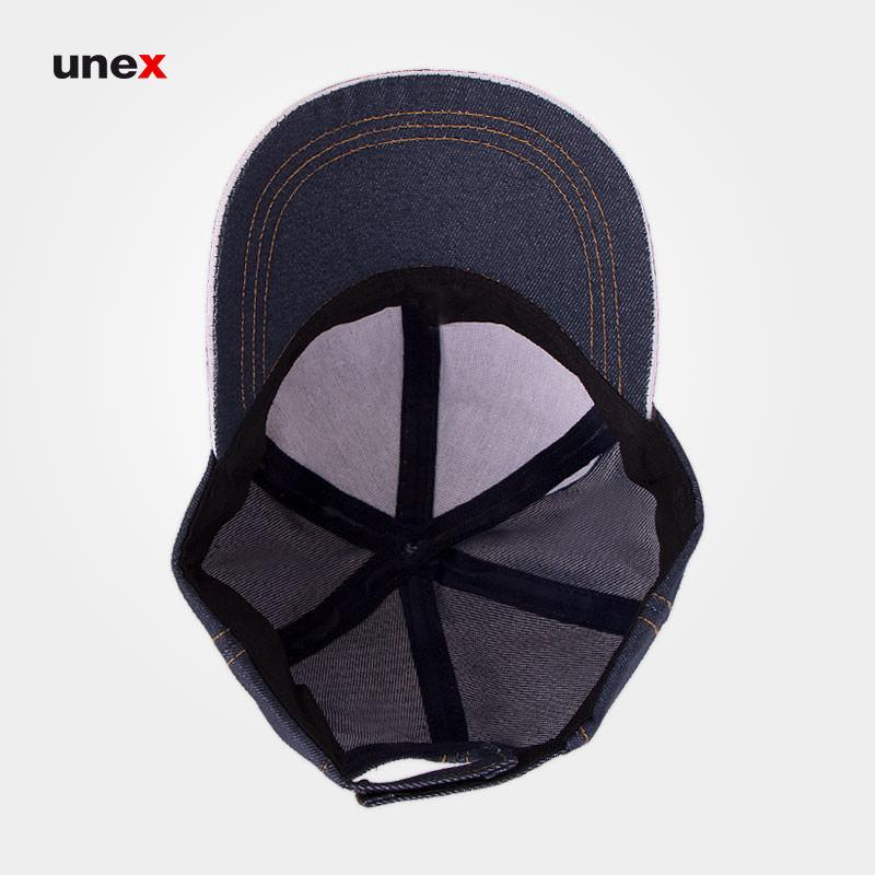 کلاه لبه دار جین، ابزار ایمنی شهپر، کلاه نقاب دار، سرمه ای، ایرانی