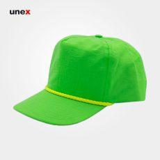 کلاه فلامنت لبه دار، ابزار ایمنی شهپر، کلاه نقاب دار، سبز، ایرانی