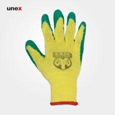 دستکش ضد برش، او ام پی اس – OMPS، سبز – زرد، چینی