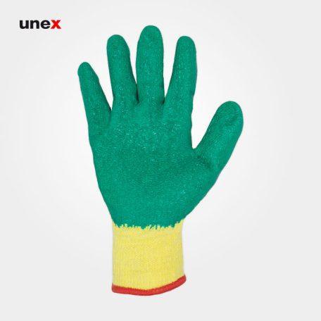 دستکش ضد برش، او ام پی اس - OMPS، سبز - زرد، چینی
