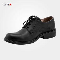 کفش اداری چرمی بندی، ال اف اس – LFS، کفش اداری، مشکی، سایز ۴۰ تا ۴۵، ایرانی
