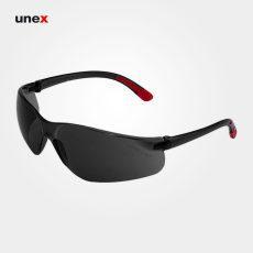 عینک ایمنی UD92، ولتکس – VAULTEX، عینک فریم دار، لنز مشکی و سفید، ایرانی